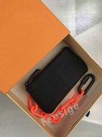 Diseñadores de lujo Mini Caja de teclas con cadena de naranja bolsas de mensajero bolsa de llaves de moda bolso de moda de lujo bolso de llaves de bolsos bolsos de monedas M67452