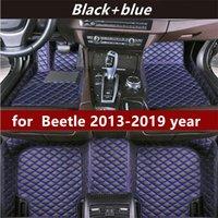 폭스 바겐 딱정벌레 2013-2019 년에 적합한 비 슬립 비 독성 바닥 매트 자동차 맞춤형