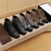 2021 Классика качества мужская обувь Espadriilles кроссовки печатные кроссовки вышивка холст тренажеры высокие низкой верхней платформы обувь с коробкой