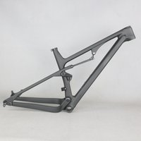 Full Sospension MTB Carbon Frame FM038 XC Mountain Carbon FramSet BB92 UD opaco può personalizzare vernice 27er 27.5er Boost