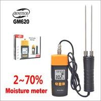 DZYTEK Ahşap Nem Ölçer Dijital Nem Test Cihazı Taşınabilir Ahşap Nem Ölçer GM620 2 ~ 70% Elektrik Ağaç İşleme Higrometre