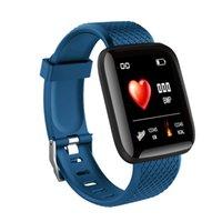 116Plus Armband Smart Armbands Wasserdichte Fitness Tracker Uhr Herzfrequenz Blutdruckmessgerät Pedometer Band Frauen Männer