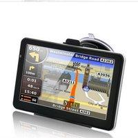 자동차 블루투스 GPS 네비게이션 7 인치 터치 스크린 네비게이터 트럭 NAV RAM256M 8G Avin America 유럽지도 네비게이터 FM 송신기