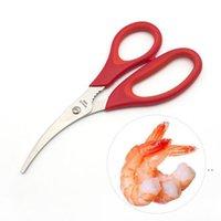 Nuevo popular langosta camarón cangrejo mariscos tijeras tijeras shars shells cocina herramienta popular OWB5405
