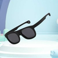 النظارات الشمسية المستقطبة الرجال والنساء سيليكون سوبر لينة الأزياء عداء نظارات الأطفال النظارات الشمسية