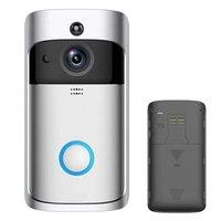 Türklingel WIFI Visuelle Video-Telefon-Türklingel-2-Wege-Audio-Türklingel-PIR-Bewegungssensor-App-Fernbedienung