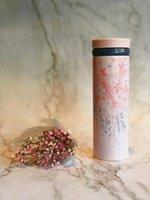 Neue Starbucks Rosa Claus Edelstahl Vakuumschale Weihnachten Mädchen Geschenk Rosa Tumbler Kaffeetasse 473ml Begleitkasse