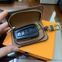 الأزياء مفتاح الإبزيم حقيبة سيارة المفاتيح اليدوية الجلود الحلي رجل امرأة محفظة أكياس قلادة اكسسوارات
