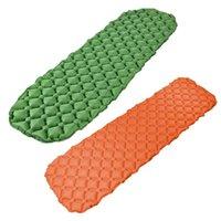 Almofadas ao ar livre inflável esteira de dormir camping rolo de colchão compacto e à prova de umidade para caminhadas, mochila, hammock, tenda