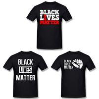 T-shirt pour hommes Black Vies Peu importe une manche courte Je ne peux pas respirer
