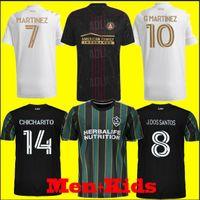 الرجال الاطفال MLS 2021 2022 لوس أنجلوس لا غالاكسي لكرة القدم الفانيلة 21 22 J.Dos سانتوس تشيتشاريتو ماتويدي لكرة القدم قمصان