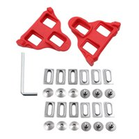 Bike Locks Road Cleats Set Self-Locking Bicycle Pedals Lock For SPD System Shoes Float Cycling
