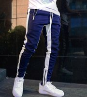 Mens Joggers Casual Pants Fitness Sportswear Bottoms Skinny Sweatpants Trousers Black Bodybuilding Gyms Men Tracksuit TrackPants