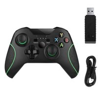 تحكم ألعاب المقود 2.4 جرام وحدة تحكم لاسلكية ل Xbox One Console PC Android Joypad Smartphone Gamepad Jualstick Xboxone Control