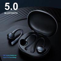 Auricular Bluetooth TWS 5 .0 Diente azul inalámbrico Earhook T7 Pro Auriculares Auriculares deportivos para todos los teléfonos inteligentes