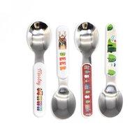 التسامي أبيض أدوات المائدة مجموعة diy الحرارة الحديثة نقل السكاكين أدوات الطعام الغربية الفضائيات المطبخ سكين ملعقة شوكة عشاء مجموعة HH12504