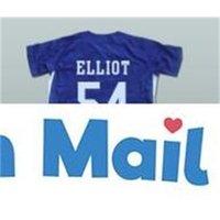 Minanser Chunichi Dragons Jack Elliot Mr. Baseball Movi Jersey 54 Mens All Stitched Jerseys Navy Blue S-3XL 무료 빠른 배송