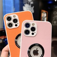 Soft Surface Layer Leather CaseS For iPhone 12 Pro 11 X XR XS Max 7 8 Plus Luxury Shockproof Cover