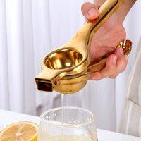 Pratik Manuel Limon Sıkacağı Paslanmaz Çelik El Basın Turuncu Meyve Sıkacağı Ev Mini Limon Klip Mutfak Aletleri CCD5027