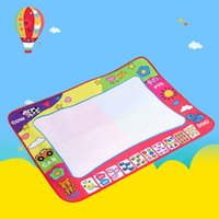 Water Painting Draw Writing Mat Party Kid Developmental Doodle Board Toy With Pen