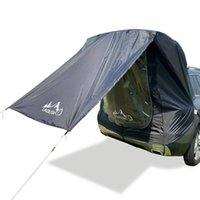 Tents And Shelters Car Tent Waterproof Outdoor Awning Sun Shelter Folding Camping Canopy Beach Shield Heavy Duty For Traveling
