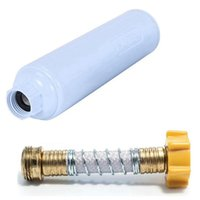 Parts 1Set RV Water Filter With Flexible Hose Protector Reduces Bad Taste, Odor And Sediment, &