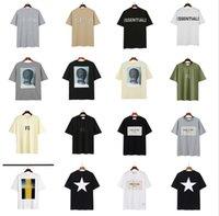 여성 남성 디자이너 안개가 안개 두려움 하나님의 셔츠 Essentials T 셔츠 티 디자이너 여성 망 짧은 소매 럭셔리 브랜드 탑스 ESS 셔츠 반사 티셔츠