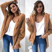 Mulheres para baixo parkas vogue camelo casaco de pele mulheres agradável outono inverno jaqueta quente com chapéu chapeta mujer sash manga espessa sobretudo