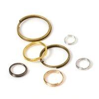 Soporte de 200 piezas Soporte abierto Anillos divididos Double Bucles círculo 5-14 mm Conectores de anillo colgante de teclas para joyería Hacer al por mayor