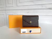 Womens de alta calidad Envío gratis 11 colores Nuevos Mini Mini Classic Bolsos con Caja Lady Cuero Carteras Mujer Monedero Cartera