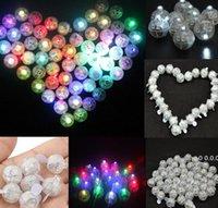 Novo LED Balão Luz Mini Rodada Forma Brilhante Luz Ligante Lanterna Casamento Aniversário Bar Bar Festa Decoração FWD10913