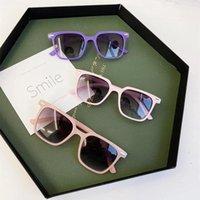أزياء العلامة التجارية الاطفال النظارات الشمسية الطفل النظارات السوداء نظارات مضادة للأشعة فوق البنفسجية الطفل التظليل النظارات فتاة بوي النظارات الشمسية