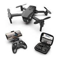 DRONES Dron RC Mini Drone 4K con fotocamera Elicottero Racing Bambini Giocattoli per bambini FPV Flusso ottico Quadcopter R16 2021 vs E58 E520S KF611M69