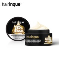 Hairinque Miracle Treatment Hair Care Mask Moisturizing Nourishing 5 Seconds Repairs Damage Restore Soft Masks 50ml