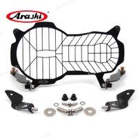 Arashi flip-over protector protector grille guardia copertura lense cover moto per BMW R1200GS / R 1200 GS ADV 2013 - 2018 2014 2015 2016 2017