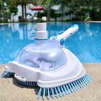 Poolzubehör Schwimmen und Spa Vakuumkopf Transparente manuelle Saugmaschine Reinigung Basen Ogrodowy Piscina Wartung Werkzeuge