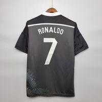 1998 2000 Real Madrid Retro Soccer Jersey # 7 Raul R.Carlos Hierro Redondo Morientes 14/15 Camisa de Futebol Vintage Classic Camiseta