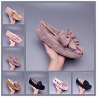UGG Dakota Pom Peas Shoes أفضل بيع عالية الجودة الساخنة wgg بيع-إيه الأحذية النساء رجل الكلاسيكية الشتاء الشتاء الثلوج أحذية الشتاء النعال أحذية حجم 35-43