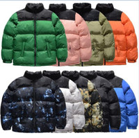 Chaqueta para mujer para hombre Chaqueta de invierno para hombre Parkas Abrigos de moda Negro Azul Naranja Amarillo Alta Calidad Mujeres Down Jacket JK005