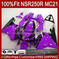 Инъекция для Honda NSR250R MC21 PGM3 NSR250 103HC.205 фиолетовый новый NSR 250 R NSR 250R 90 91 1992 1993 NSR250RR 1990 1991 92 93 OEM обтекатель