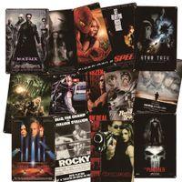 Movie Metal Poster Plaque Vintage Film Tin Sign Wall Decor for Man Cave Bar Pub Club