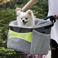 Porte-papiers vélo vélo chien porteur de vélos avec petites poches de guidon de vélo petit animal de compagnie avec bandoulière