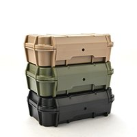 Fishing Accessories ABS Waterproof Storage Box Dustproof Outdoor Plastic Container Case Tackle Tools 210*130*66 Mm