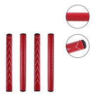 Grips del club 1 unids / lote Putter de golf Grip de alta calidad Soft PU Poner accesorios de cue Súper luz roja Ly