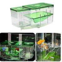 Schutzsicherer Laich Baby Fische Zucht Kunststoff Isolation Box Tank Inkubator Aquarium Kindergarten Automatische Umlaufbrüheei