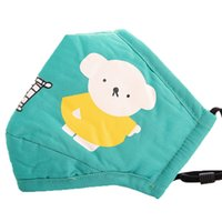 2021 Designer Face Mask Cotton children masks PM2.5 cartoon sunscreen dustproof breathable anti-fog washable