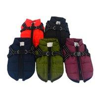 Собака одежда одежда жилет жгут щенок зима 2 в 1 outfit мягкий Acket для маленьких Parkas теплая погода пальто XS-XXL