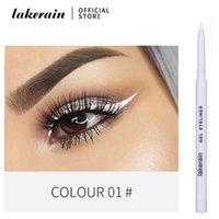 Eyeliner 12 Renkler Uzun Ömürlü Mat Jel Kalem Su Geçirmez Siyah Kalem Kozmetik Beyaz Göz Kalemi Pürüzsüz Makyaj Araçları