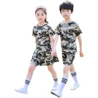 Children's Outdoor Martial Arts Sets Camouflage Clothing Adult Men and Women Summer Camping Hiking Clothes Camp Special Forces Suits