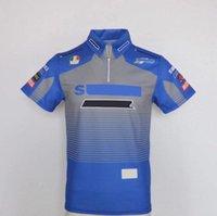 2021 New MotoGP Team Factory Uniforme Polo Chemise Equipement Été Été Casual Casual Haut Top Racing Chemise De grande taille Peut être personnalisé